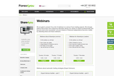 Forex4you Webinars